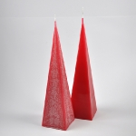 Pyramide fine rouge